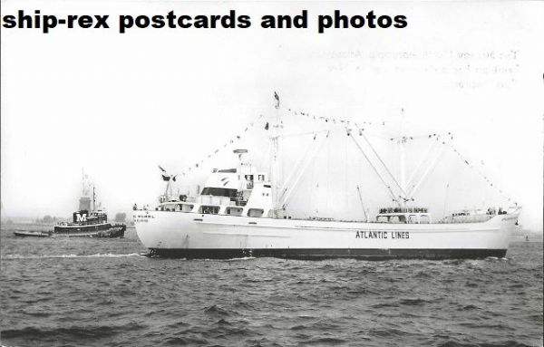 ATLANTIC PEARL (Atlantic Lines) postcard (a1)